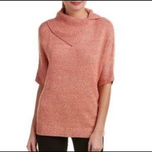 CAbi foldover pullover sweater size XS